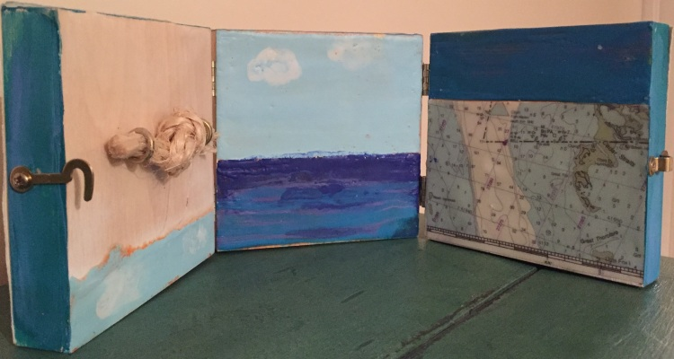 abbott_out-to-see-out-to-sea_6x-18_wax-paper-jute-metal-on-triptych-panel_2016